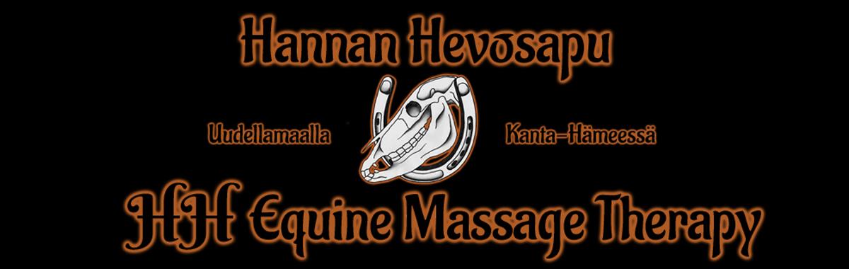 Hannan Hevosapu-HH Equine Massage Therapy